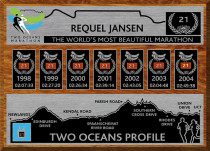 Replica Medal Plaque for Two Oceans